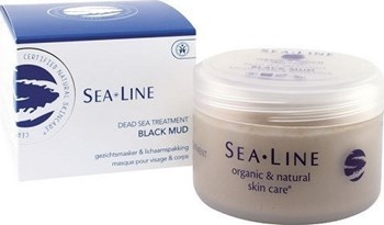Picture of Sea Line Mineral Black Mud Face Mask & Body Wrap 225ml με άλατα της Νεκράς Θάλασσας