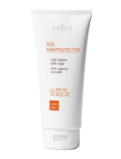 Picture of LEXEL AGE SUN PROTECTION Αντιηλιακό Γαλάκτωμα – Σώμα UVA / UVB SPF 30 200ml