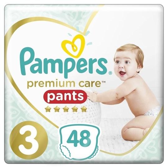 Picture of Pampers Premium Care Pants Μέγεθος 3 6-11kg 48 Πάνες-Βρακάκι