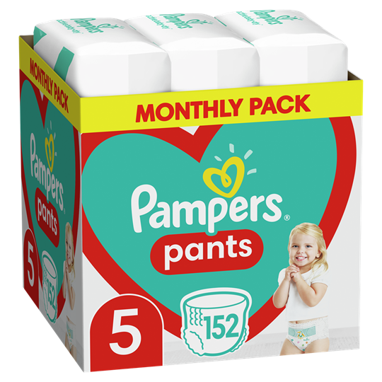 Picture of Pampers Pants No.5 (12-17kg) 152 Πάνες