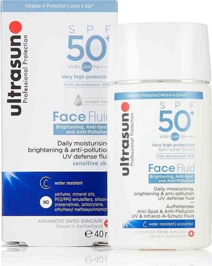 Picture of Ultrasun Professional Face Fluid Brightening & Anti-pigmentation SPF50 40ml Anti-Spot