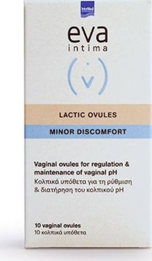 Picture of INTERMED EVA INTIMA LACTIC 10 vaginal ovules