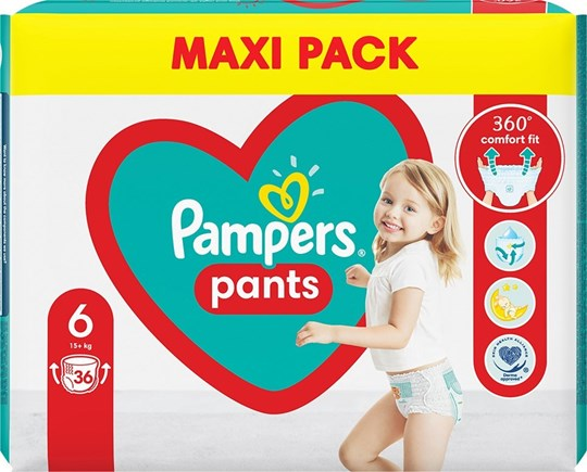 Picture of Pampers Pants No 6 (15kg+) 36τμχ