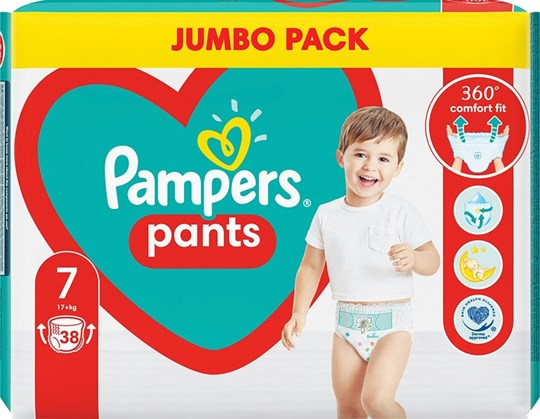 Picture of Pampers Pants No 7 (17+kg) 38τμχ