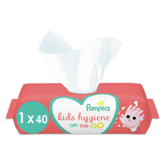 Picture of Pampers Kids Hygiene On-the-go 40τμχ