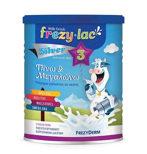 Picture of Frezyderm Γάλα σε Σκόνη Frezylac Silver 3 12m+ 400gr
