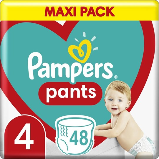 Picture of Pampers Pants No 4 (9-15kg) 48τμχ