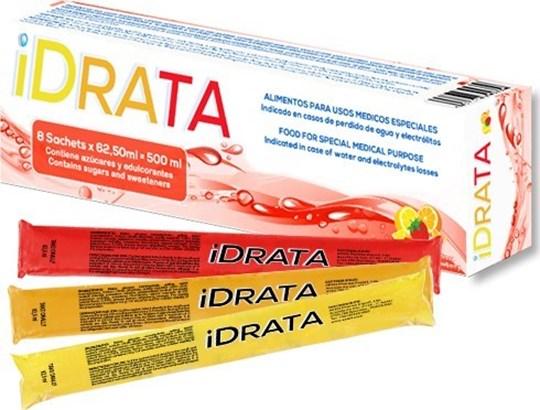 Picture of iDRATA για απώλεια Νερού ή Ηλεκτρολυτών 8 φακελάκια X 62.50ML