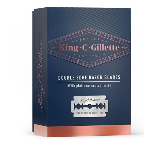 Picture of Gillette King C 10 ανταλ/κές Λεπίδες