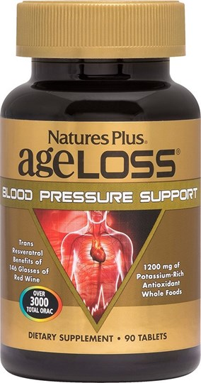 Picture of Nature's Plus Ageloss Blood Pressure Support 90 ταμπλέτες