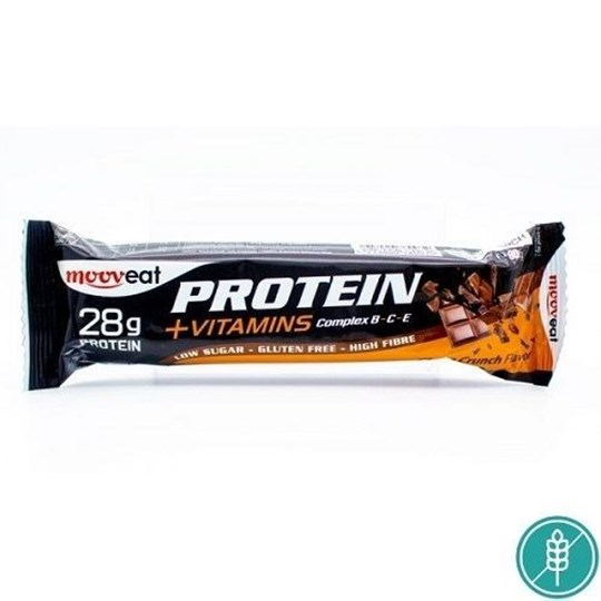 Picture of Mooveat Protein 35% +Vitamins Bar 80gr Choco Crunch