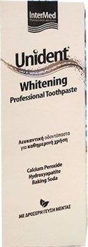 Picture of Intermed Unident Whitening Professional Toothpaste 100ml