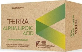 Picture of Genecom Terra Alpha Lipoic Acid 30 ταμπλέτες