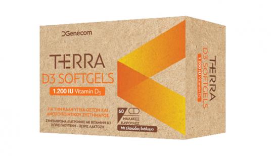 Picture of GENECOM Terra D3 1200 IU 60softgels