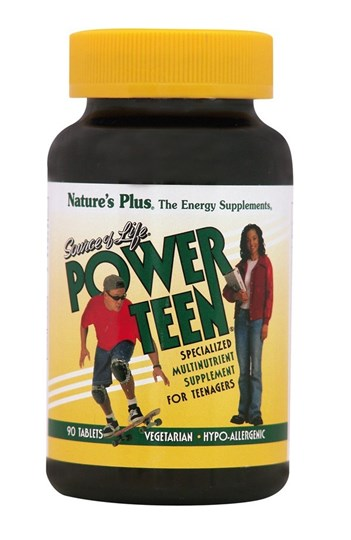 Picture of NATURE'S PLUS POWER TEEN 90 tabs