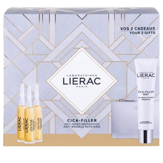 Picture of Lierac Promo Cica-Filler Serum 3x10ml & ΔΩΡΟ Cica-Filler Mat Gel-Cream 40ml & Δερμάτινο Πορτοφόλι