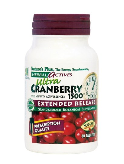 Picture of Nature's Plus Ultra Cranberry 1500 Extended Release 30 tabs