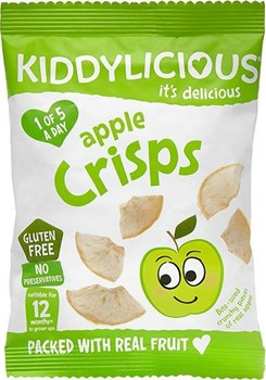 Picture of Kiddylicious Apple Crisps 12gr