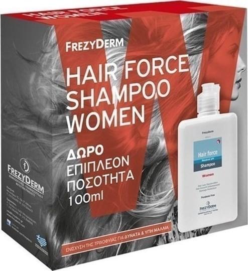Picture of Frezyderm Hair Force Shampoo Women 200ml & 100ml