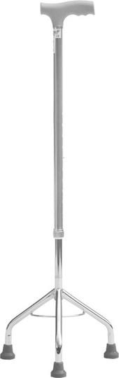 Picture of Mobiak Μπαστούνι Τρίποδο Με Κωνική Βάση 70-95 cm Γκρι 0807662