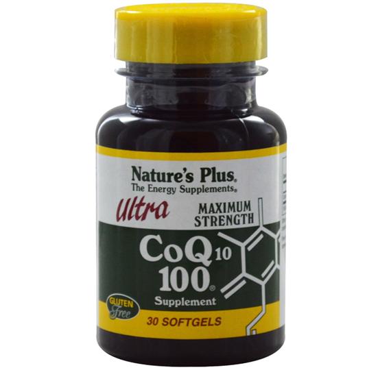 Picture of Nature's Plus ULTRA CoQ10 100 30 CAPS