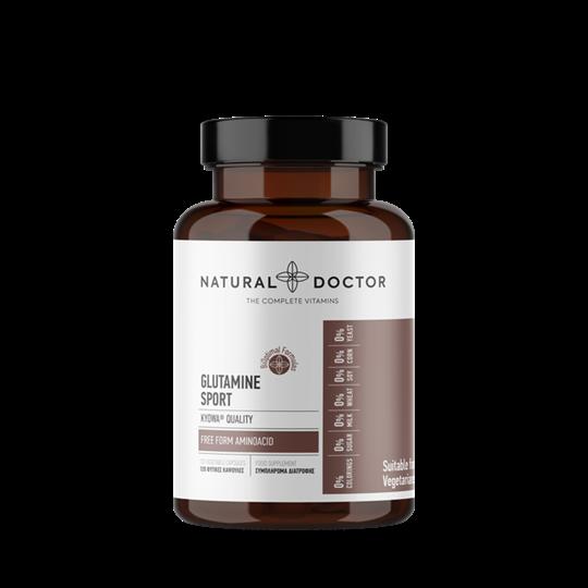 Picture of Natural Doctor L-Glutamine Sport 120caps