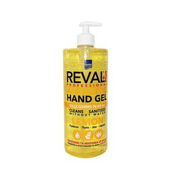 Picture of Intermed Reval Plus Antiseptic Hand Gel Lemon Σκοτώνει τα Μικρόβια σε 60΄΄ 1Lt