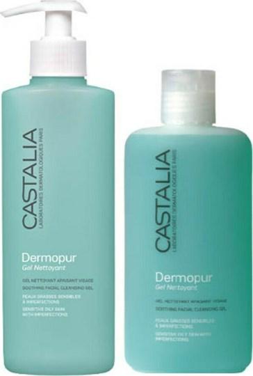 Picture of Dermopur Gel Nettoyant Sensitive Oily Skin 300ml & 200ml