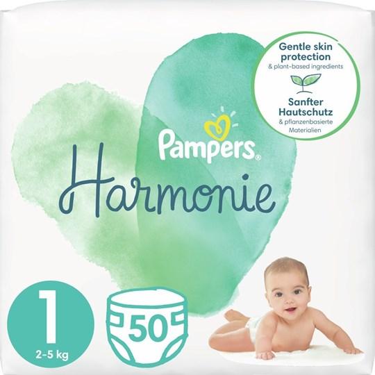 Picture of Pampers Harmonie Νο 1 (2-5 kg) 50τμχ