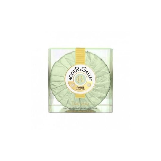 Picture of ROGER & GALLET THE VERT Savon Frais Boîte Cristal 100g