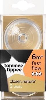 Picture of Tommee Tippee Θηλή από Σιλικόνη Γρήγορης Ροής 2τμχ