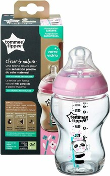 Picture of Tommee Tippee Closer To Nature Panda Poz 0m+ 250ml