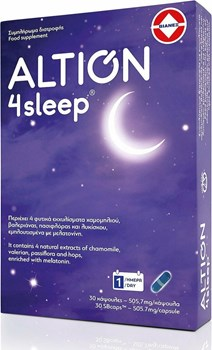 Picture of Altion 4Sleep 30 κάψουλες