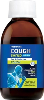 Picture of FREZYDERM COUGH SYRUP ADULTS+12y 182gr